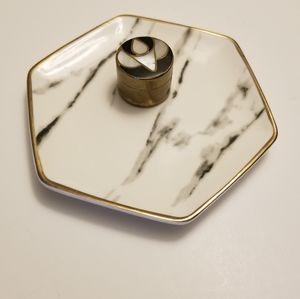 Vintage Mini Jewelry Trinket Box